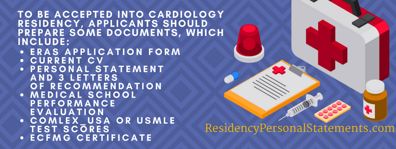 cardiology residency application requirements