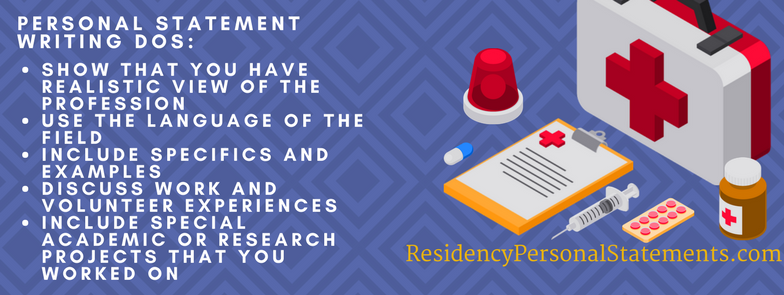 emergency medicine personal statement tips