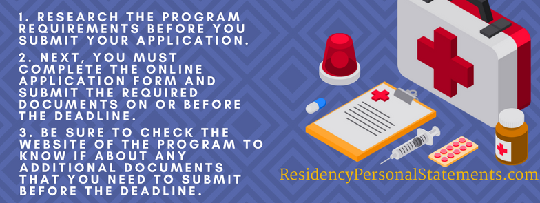 endocrinology residency program checklist