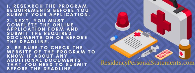 endocrinology residency program checklist