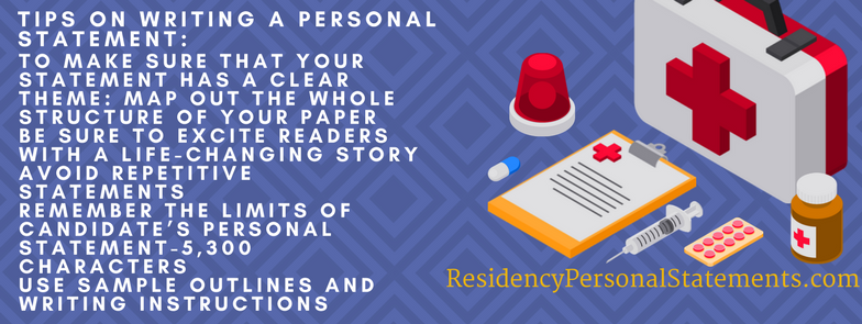 oncology personal statement writing tips