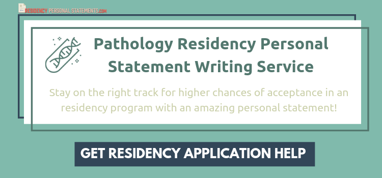 pathology personal statement writing service