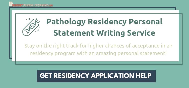 pathology personal statement writing service