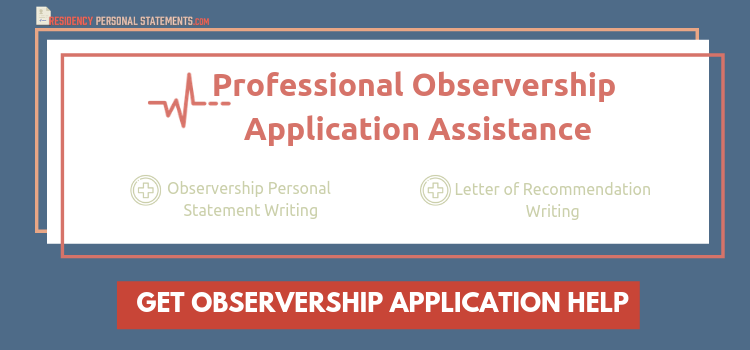 Winning Medical Observership Personal Statement | IMG & USMG