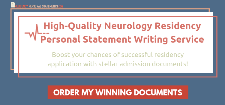 neurology residency personal statement writing help